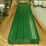 Lamiera di acciaio ondulata galvanizzata ricoperta colore per le mattonelle di tetto