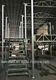 Schnelle und einfache Installations-vorfabrizierter Stahlkonstruktion-Treppenhaus-Aufbau
