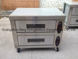 Nuevo diseño de cubierta 2 eléctrico 1 bandeja de horno de panadería Pan Pizza pequeña