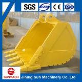 Cubeta da rocha da máquina escavadora para a máquina escavadora PC300 de KOMATSU