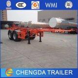 半Chengdaのブランド3の車軸20FT 40FT容器の骨組トレーラー