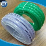 Trançado de alta pressão de PVC/tubos de borracha do tubo reforçado clara para o fornecimento de água