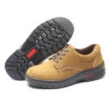 Únicos zapatos de seguridad antis de goma del patín para los hombres