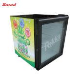 52L Porta de vidro frigorífico refrigerador de Exibição de bebidas do tampo da mesa