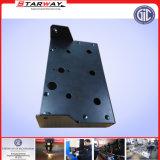 Fazer à máquina de aço fazendo à máquina do CNC do bronze de alumínio do ferro