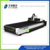 500W Metal CNC Fibras de Aço Carbono Inoxidável Cortador a laser 4015