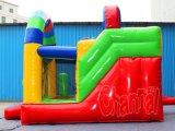 Colorful Arch Inflatable Slide Combo pour l'utilisation de la location (CHSL1102)