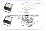 De alta potencia al aire libre IP65 110V 270V 50W 100W 150W 200W 300W 400W LED Flood
