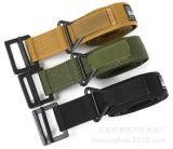 Cinghia di tela di canapa militare della cinghia del metallo della cinghia di sport esterni dell'esercito tattico