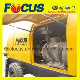 Pompa per calcestruzzo del rimorchio del circuito idraulico del macchinario di costruzione di ingegneria 90kw