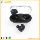 Mini receptores de cabeza biauriculares sin cuerda del en-Oído para el iPhone X/iPhone 8 con el rectángulo del cargador