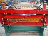 Rodillo de la capa doble del uso del material para techos del metal que forma la máquina