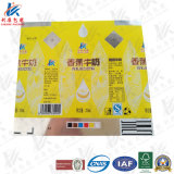 Papier stratifié aseptique empaquetant pour le lait et le jus