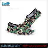 Camo programável confortável piscina unissexo calçado de borracha