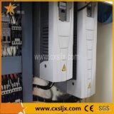 Boudineuse à vis jumelle conique de machine en plastique pour la ligne de feuille de profil de pipe de PVC