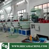 Maquinaria de mezcla de alta velocidad de la alta calidad con el refrigerador para la cadena de producción de WPC