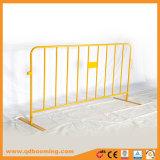 Barrera del camino de la barrera de seguridad de tráfico de la barricada de la barrera del control de muchedumbre
