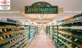 Prateleiras de supermercado Vitrina de exibição de acrílico Rack de supermercado
