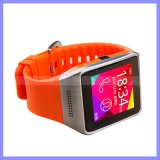 3カラーシリコーンのBluetoothのタッチ画面SIMのカメラスマートな手の腕時計の携帯電話の携帯電話