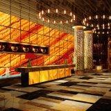 Pietra artificiale dell'impiallacciatura sottile del mattone per la decorazione della parete/Tabella/hotel