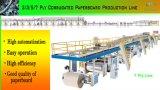 Große Geschwindigkeit 5 Schicht-gewölbter Pappe-Produktionszweig