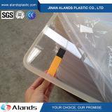 Plexiglass acrylique 2mm de la feuille PMMA de feuille de couleur en plastique acrylique de moulage