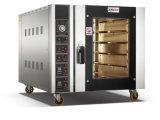 Электрических и газовых двойного использования Конвекционная печь 5 лотков для бумаги продовольственной пекарня оборудования