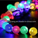 Lumière solaire de chaîne de caractères de bulle pour la décoration de jardin de Noël