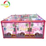 위락 공원 동전은 판매를 위한 선물 게임 기계 장난감 클로 기중기 기계를 Vending 6명의 선수를 운영했다