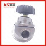 Soupapes manuelles sanitaires de bas de membrane de l'acier inoxydable SS316L