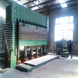 Machine chaude de presse de contre-plaqué hydraulique de prix concurrentiel