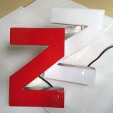 Signe acrylique de lettres de la Manche du plein Lit populaire DEL à vendre