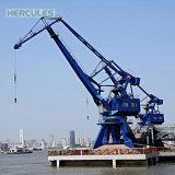 Pedestal eléctrico Puerto hidráulicos grúa Marina
