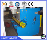 Plaque en acier de cisaillement hydraulique Machine QC12Y-6X4000 Machine de coupe hydraulique