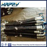 Venta caliente hidráulico de alta presión conjunto de la manguera de goma