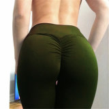 De Beenkappen van de Broek van de Yoga van de Beenkappen van Scrunch van de Buit van de Geschiktheid van Sportwear