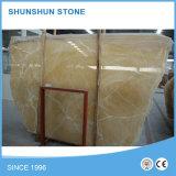 Lajes agradáveis do mármore de Onyx do mel de China para a parede e o revestimento