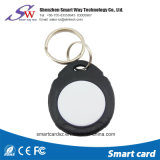 공장 가격 원형 Ntag213 NFC RFID 아BS Keychain