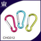 Small Gourd Type Alumnium Keychain Locking Escalada Carabiner