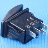 Light를 가진 Carling Technologies Marine Rocker Switch