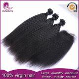 Comercio al por mayor directamente rizado cabello virgen vietnamita tejer