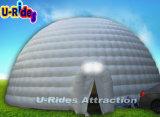 Riesige weiße Abdeckung-aufblasbares Hall-Zelt für grosse Ereignisse