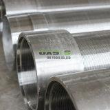 tubo del collegare del cuneo del filtro per pozzi dell'acqua dello schermo dell'acciaio inossidabile 316L