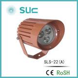 IP67 9W luz impermeable del césped del LED para el proyecto al aire libre