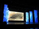 Muestras video de interior de la pared P2.5 RGB LED del LED con a todo color