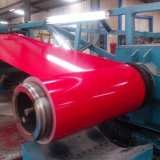 Bobina de aço de cor vermelha para construção de telhado (SC-003)