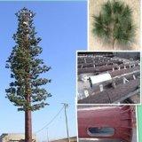テレコミュニケーションのMonopoleカムフラージュのマツまたはヤシの木管状タワー