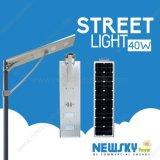 One Light Solar Powered LightのIP65 Waterproof Street Lamps All