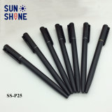 De goedkope Zwarte Ballpoint Aangepaste Plastic Pen van de Bevordering