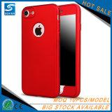 Caja del teléfono móvil de la cubierta completa 360 para el caso del iPhone 8